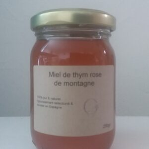 miel rare de rose de montagne