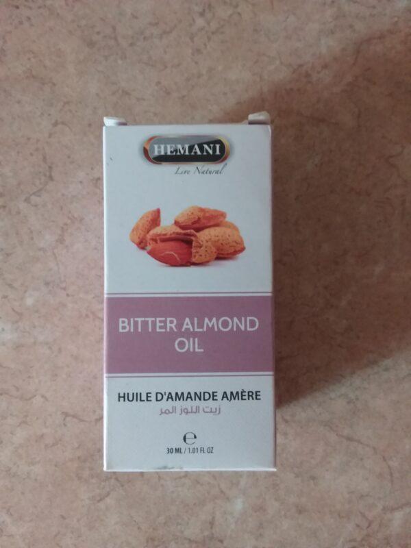 huile hemani d'amande amèr 30ml