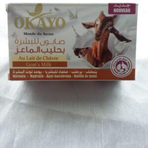 savon au lait de chèvre 125gr okao